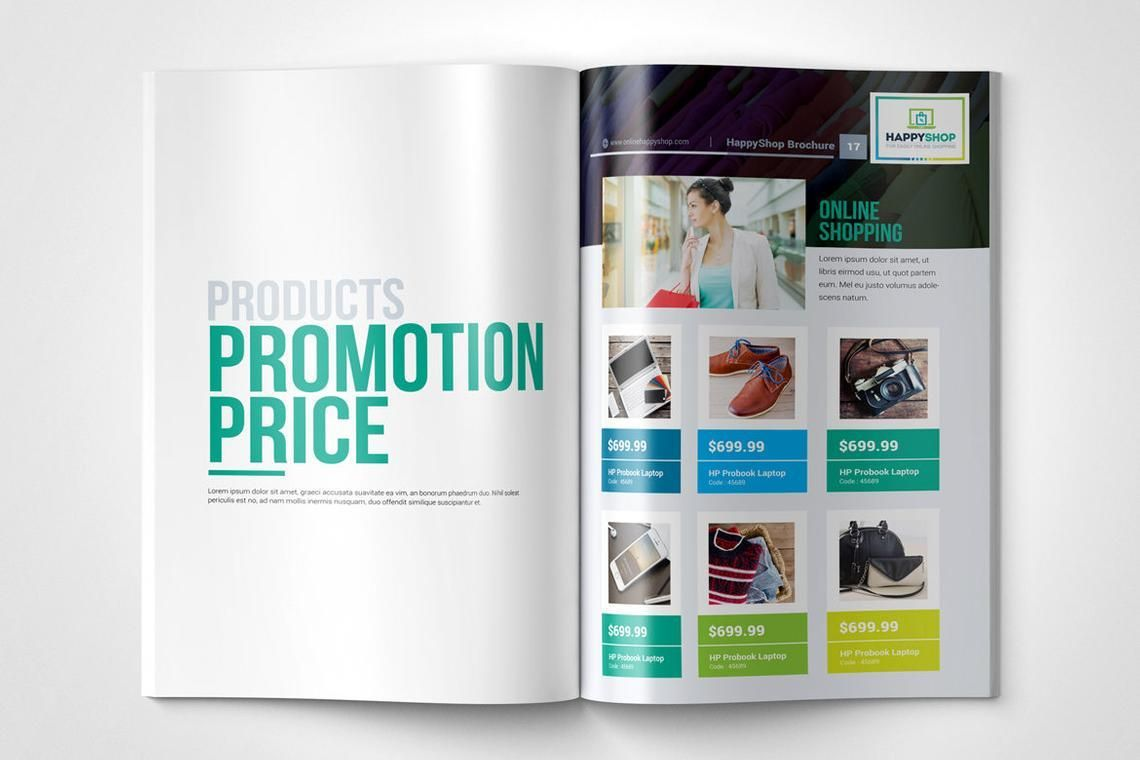 30 Pages Bi-Fold Brochure InDesign Template, Slide 9, 08845, Business — PoweredTemplate.com