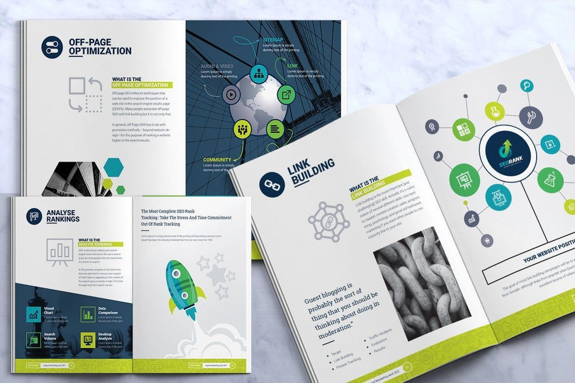 SeoRank Bi-Fold Brochure - Corporate Identity Template, Slide 10, 08856, Consulting — PoweredTemplate.com