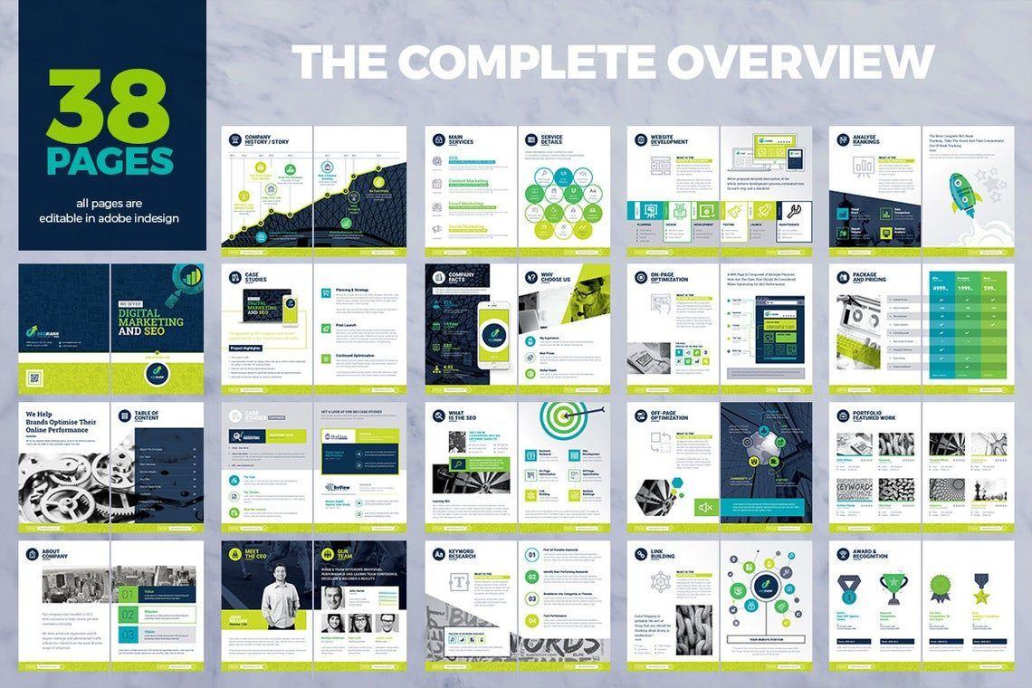 SeoRank Bi-Fold Brochure - Corporate Identity Template, Slide 11, 08856, Consulting — PoweredTemplate.com