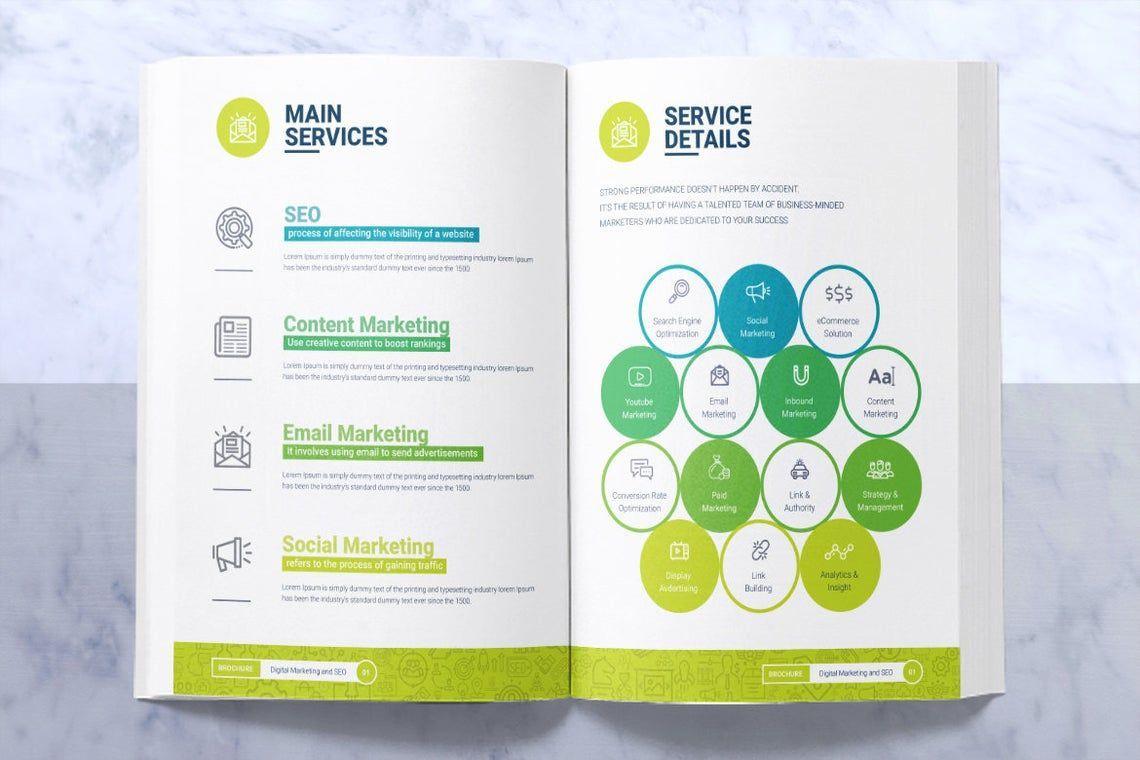 SeoRank Bi-Fold Brochure - Corporate Identity Template, Slide 4, 08856, Consulting — PoweredTemplate.com