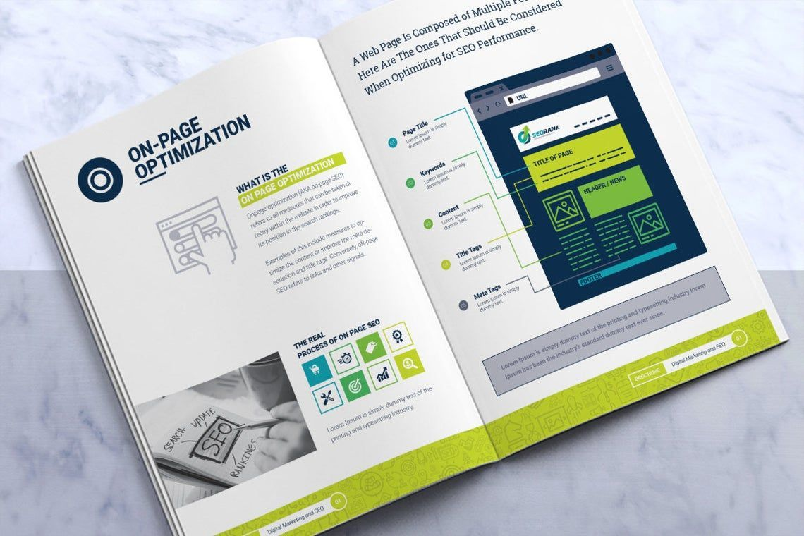 SeoRank Bi-Fold Brochure - Corporate Identity Template, Slide 9, 08856, Consulting — PoweredTemplate.com