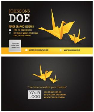 Abstract/Textures: Corporate Business Card template #08859