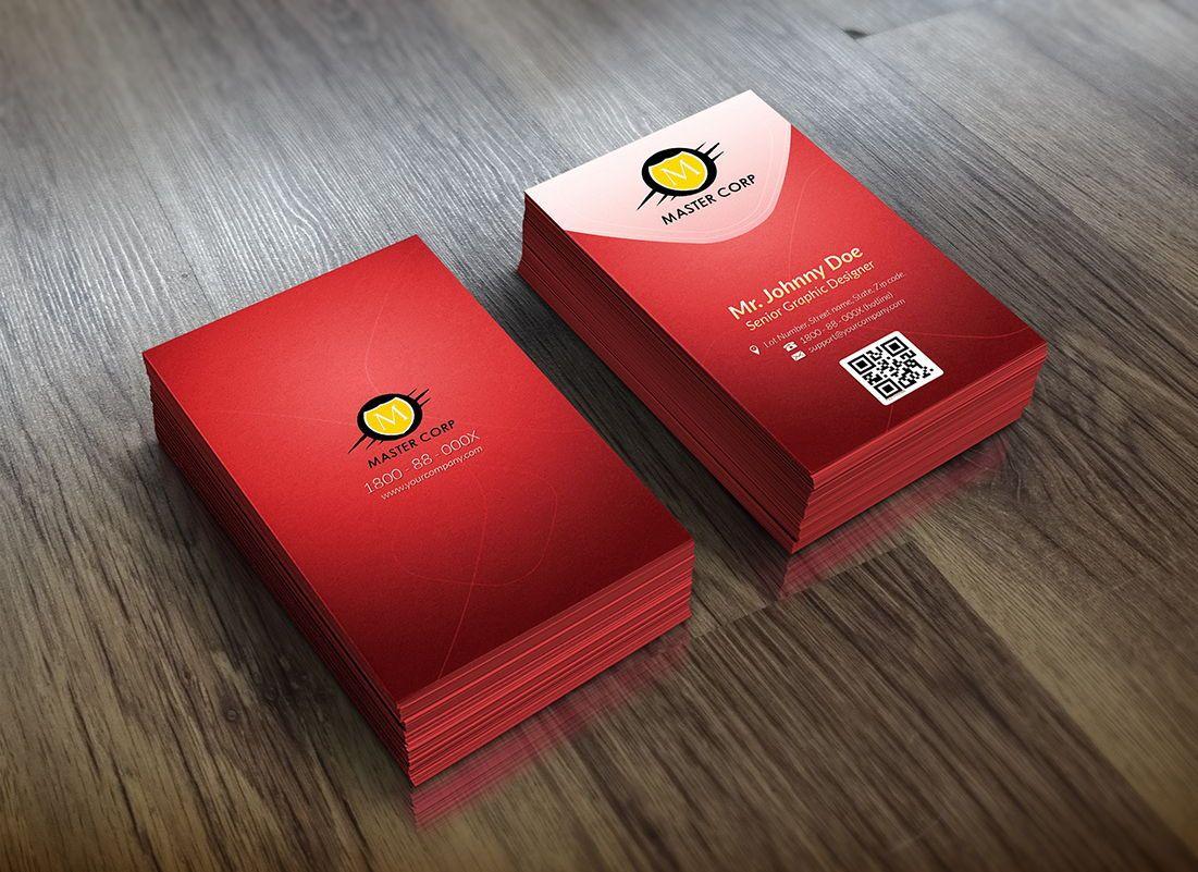 Corporate Business Card template, Diapositiva 2, 08860, Abstracto / Texturas — PoweredTemplate.com