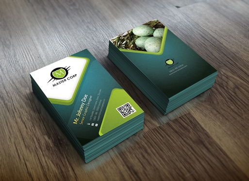 Abstract/Textures: Corporate Business Card template #08861