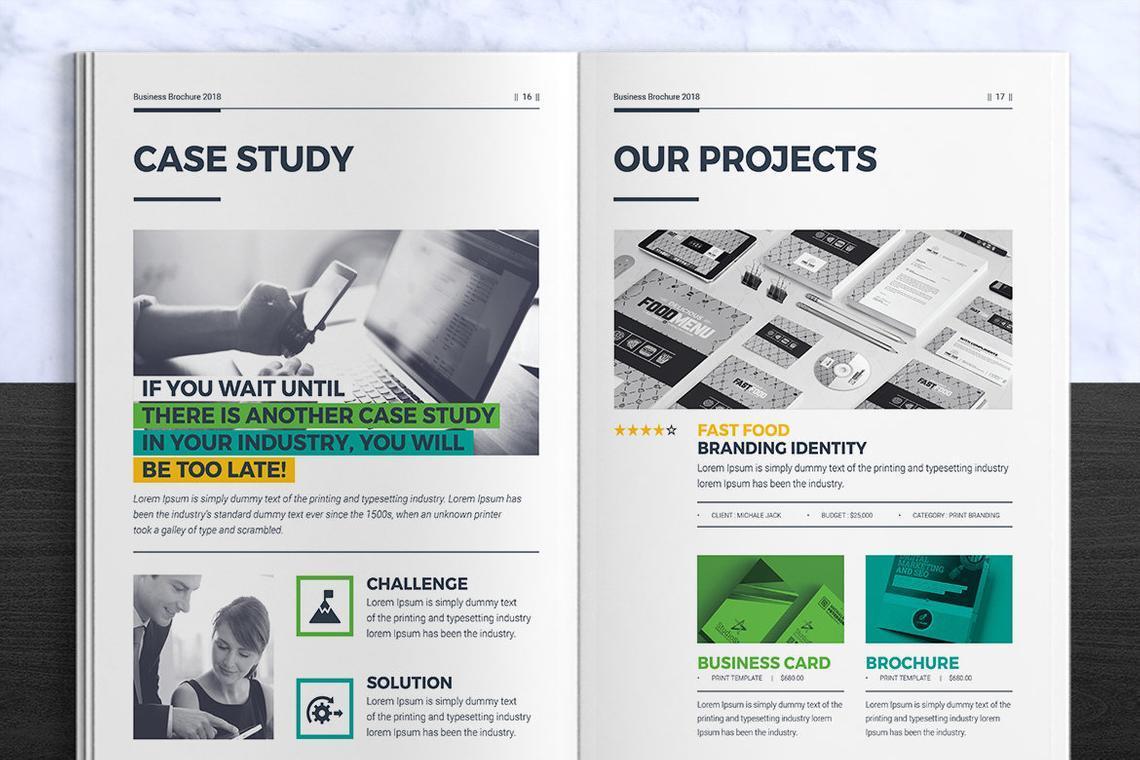 Corporate InDesign Brochure Template, Slide 9, 08870, Business — PoweredTemplate.com
