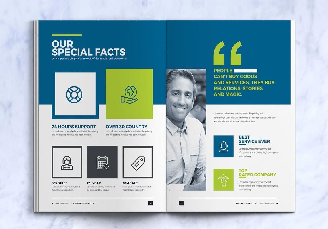 Company InDesign Bi-Fold Brochure Template, Slide 9, 08871, Business — PoweredTemplate.com