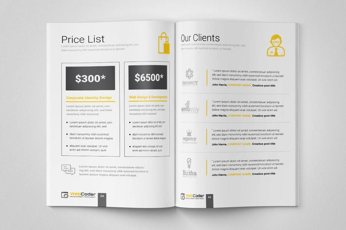 Web Design and Development Agency InDesign Brochure Template, Slide 6, 08872, Consulting — PoweredTemplate.com