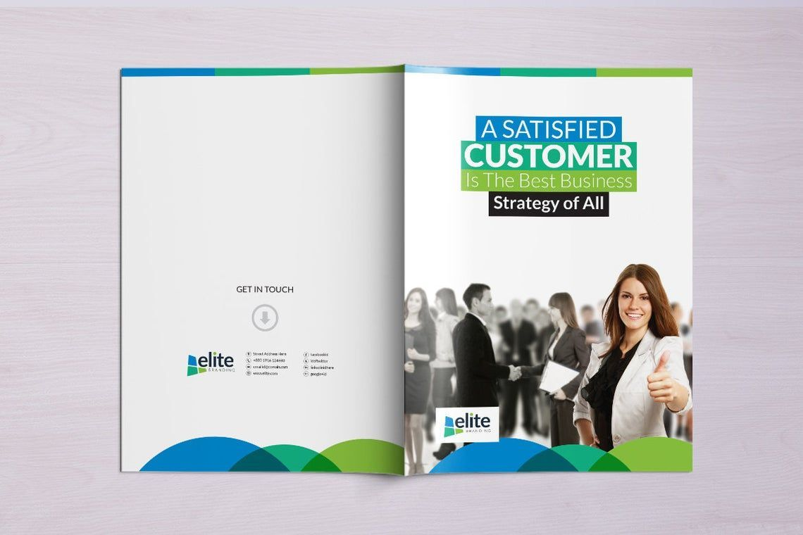 12 Page Corporate Clean Business InDesign Brochure Template, Slide 7, 08873, Business — PoweredTemplate.com