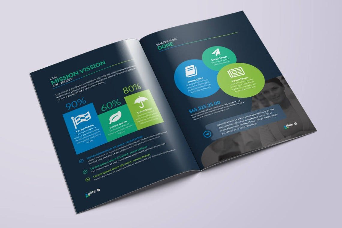 12 Page Corporate Clean Business InDesign Brochure Template, Slide 9, 08873, Business — PoweredTemplate.com