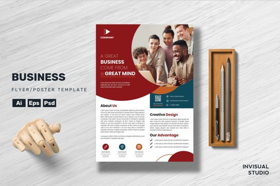 Business: Business - Flyer Template #08882