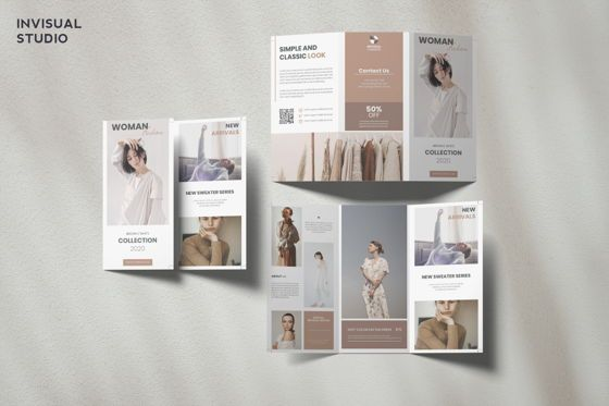 Art & Entertainment: Fashion - Trifold Brochure #08908