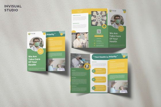 Medical: Medical - Trifold Brochure #08912