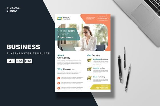 Business: Business Experience - Flyer Template #08917
