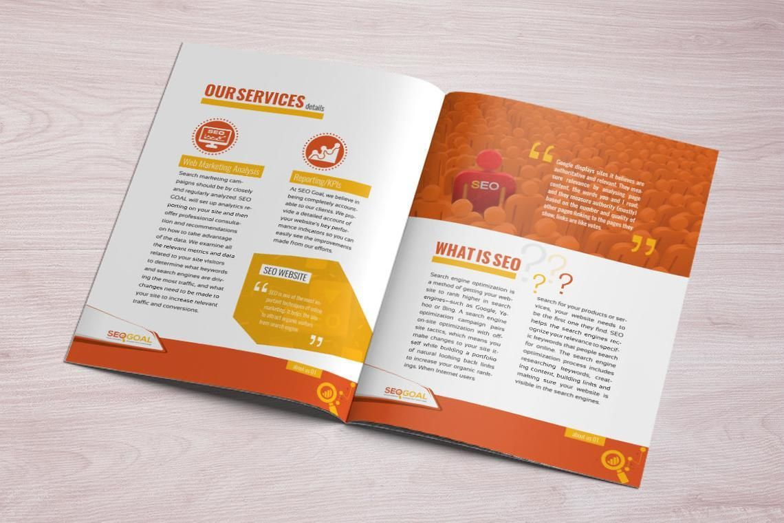 16 Page Brochure Template for SEO and Online Marketing Agency, Slide 6, 08931, Technology, Science & Computers — PoweredTemplate.com