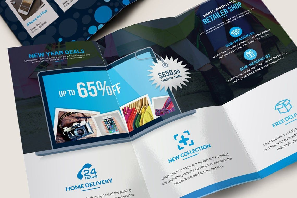 Product Promotional Tri-Fold Brochure InDesign Template, Slide 9, 08932, Business — PoweredTemplate.com