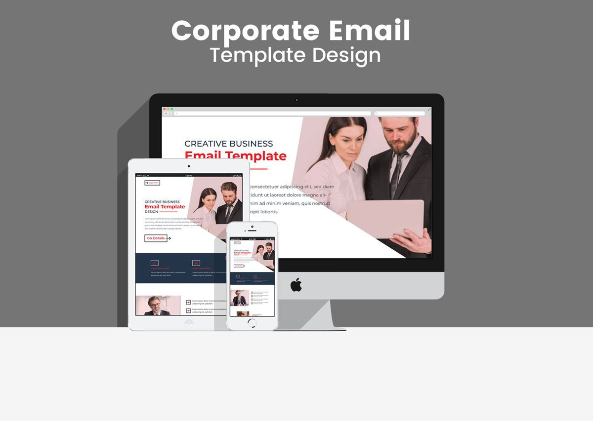 Corporate Business Professional b2b Newsletter Template adobe, 08937, Abstract/Textuur — PoweredTemplate.com