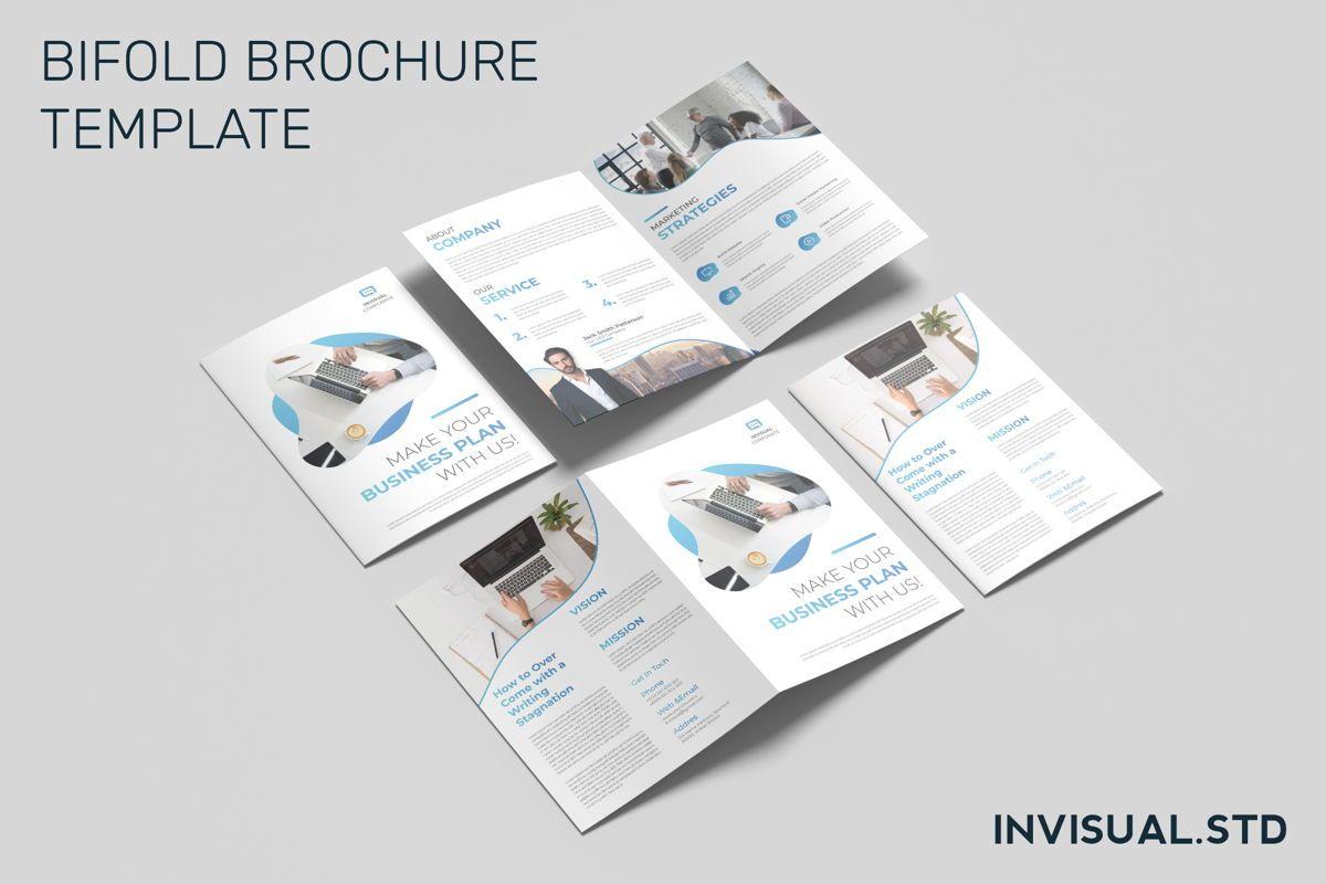 Business - Bifold Brochure, 08941, Business — PoweredTemplate.com