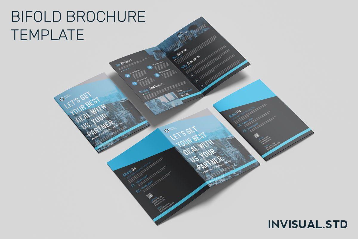 Business Partner - Bifold Brochure, 08943, Business Concepts — PoweredTemplate.com