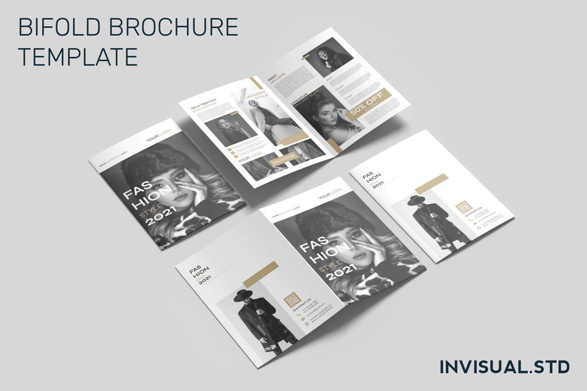 Fashion - Bifold Brochure, 08944, Art & Entertainment — PoweredTemplate.com