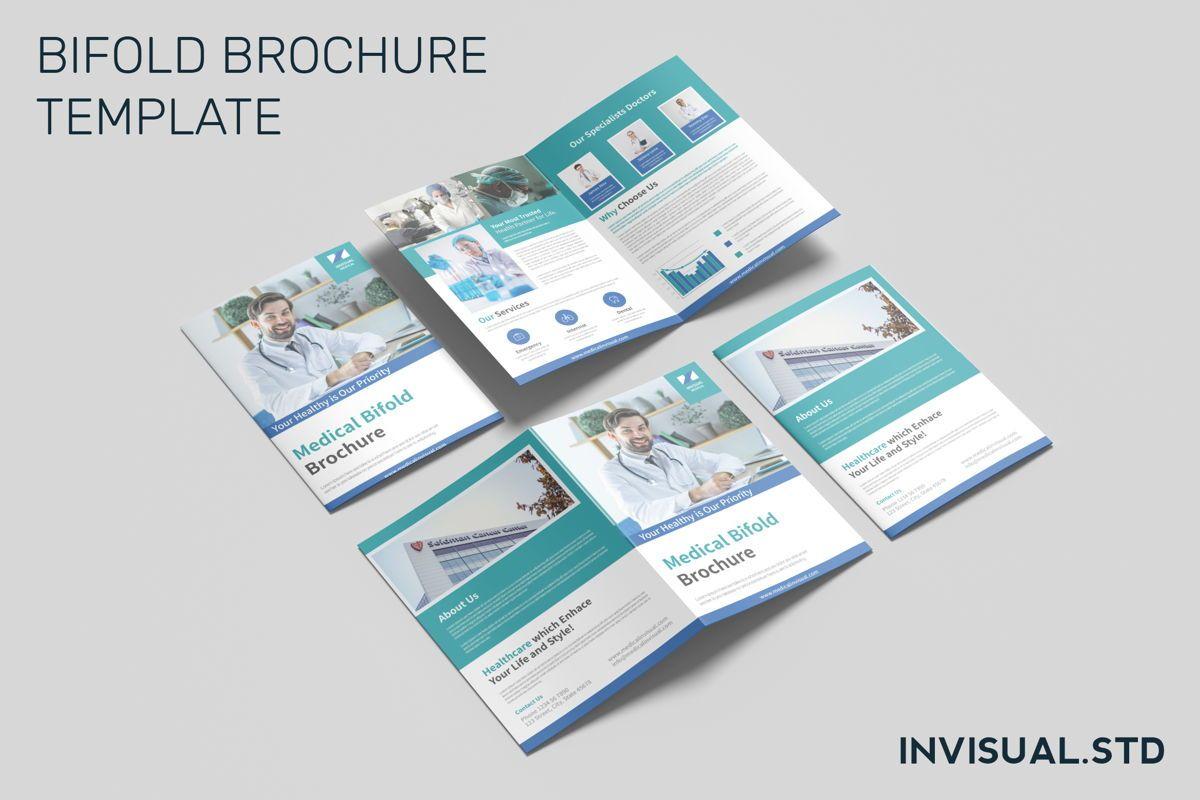 Medical - Bifold Brochure, 08949, Medical — PoweredTemplate.com