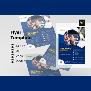 Business: Creative business flyer template #08972