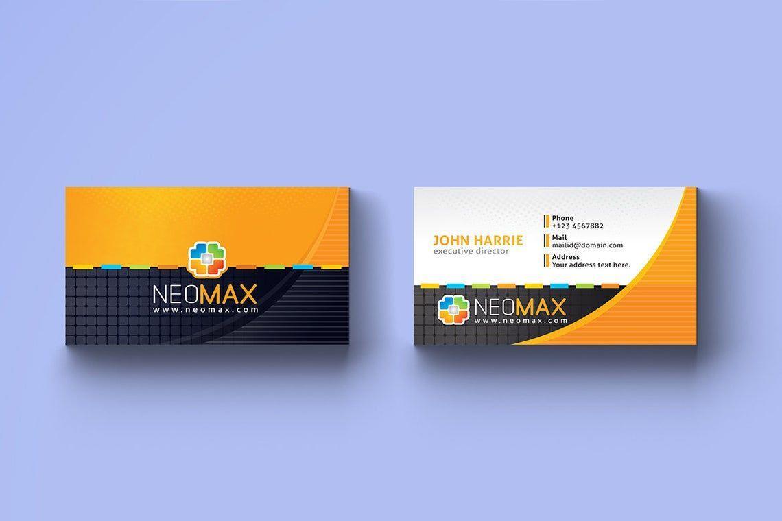Creative Business Card Template, Slide 2, 08979, Art & Entertainment — PoweredTemplate.com
