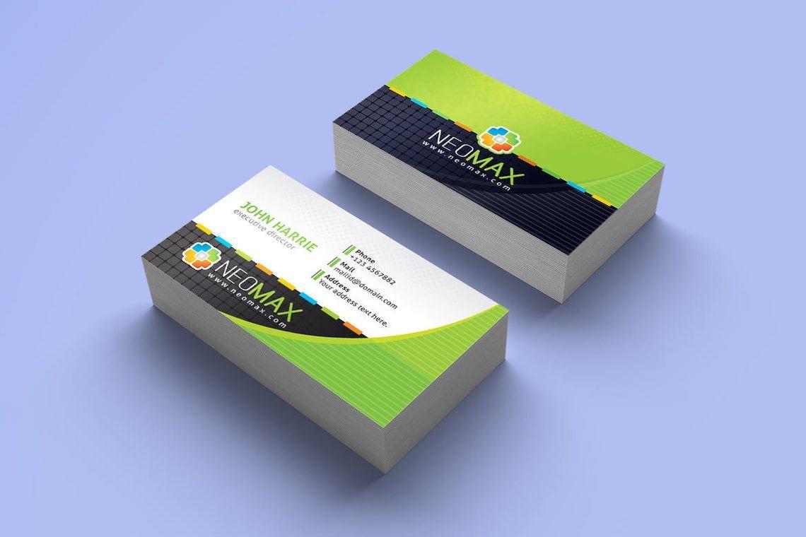 Creative Business Card Template, Slide 3, 08979, Art & Entertainment — PoweredTemplate.com