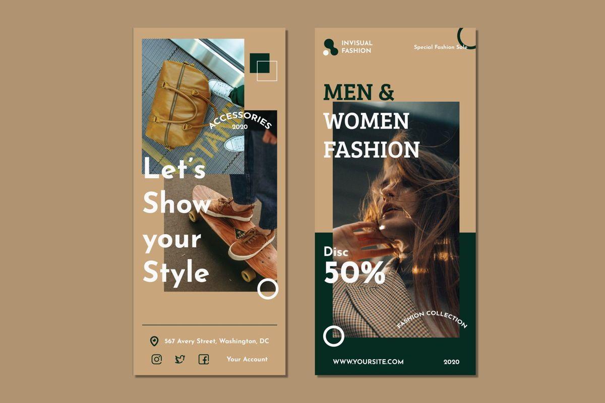 Men Woman Fashion - Trifold Brochure, Slide 2, 08990, Art & Entertainment — PoweredTemplate.com
