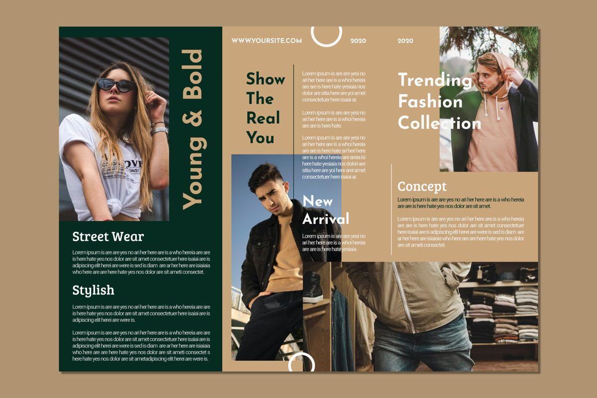 Men Woman Fashion - Trifold Brochure, Slide 4, 08990, Art & Entertainment — PoweredTemplate.com