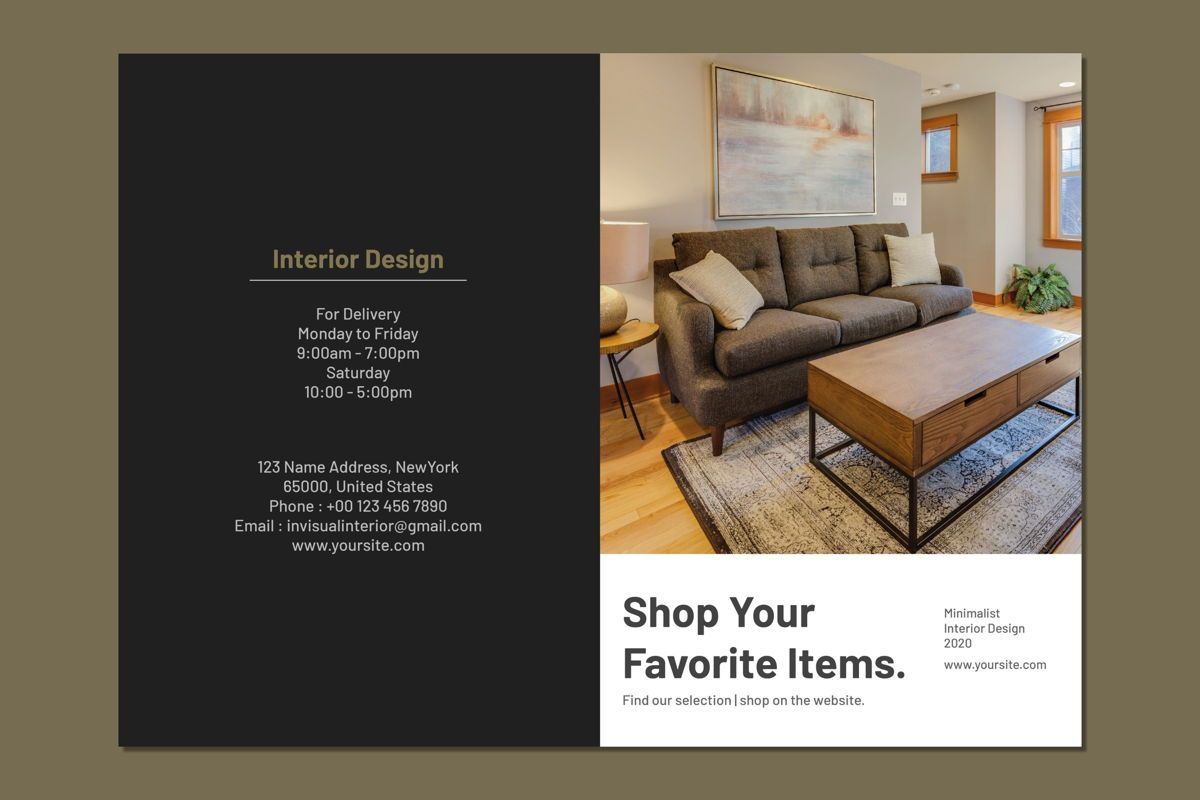 Shop Your Favorite Item - Bifold Brochure, Slide 2, 08992, Business Concepts — PoweredTemplate.com