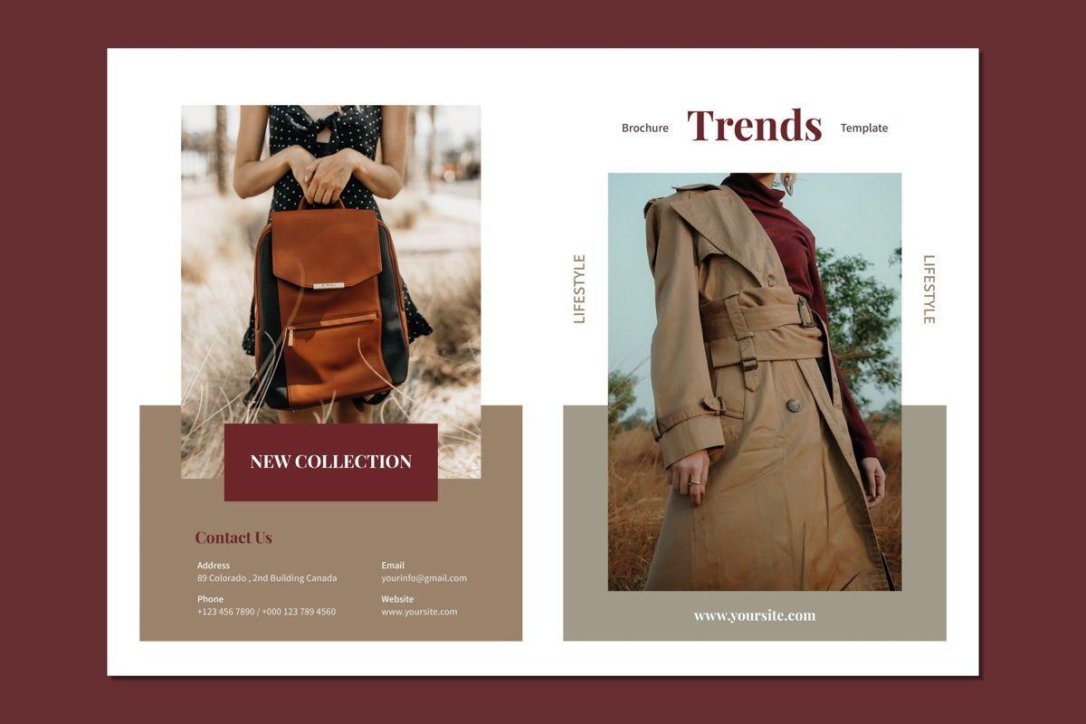 Trends Fashion - Bifold Brochure, Slide 3, 08994, Art & Entertainment — PoweredTemplate.com