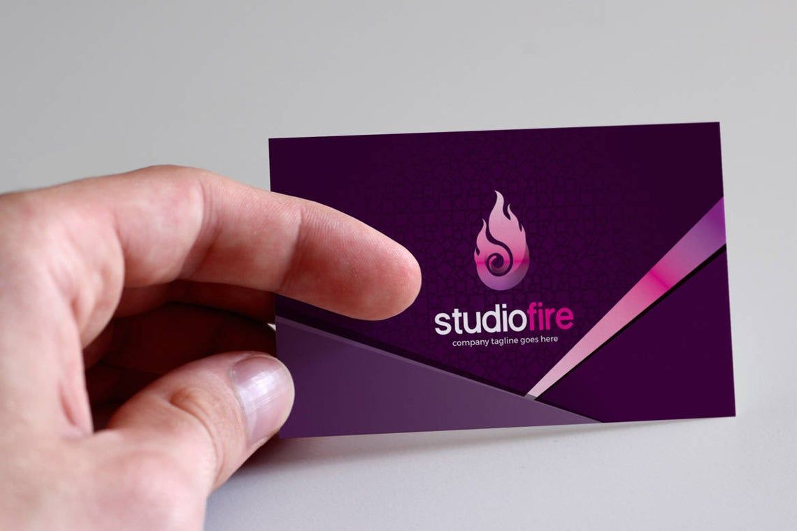 StudioFire - Business Card Template, Slide 4, 09021, Business — PoweredTemplate.com