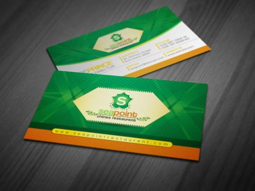 Careers/Industry: SeaPoint - Vintage Business Card Template #09023