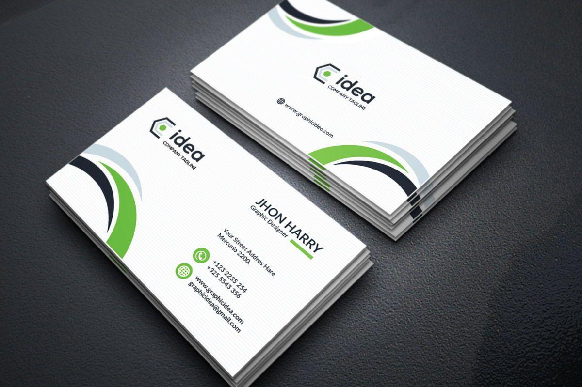 Idea - Multipurpose Business Card Template, 09033, ビジネス — PoweredTemplate.com