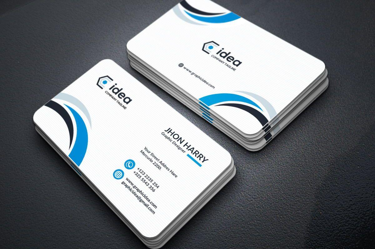 Idea - Multipurpose Business Card Template, スライド 2, 09033, ビジネス — PoweredTemplate.com