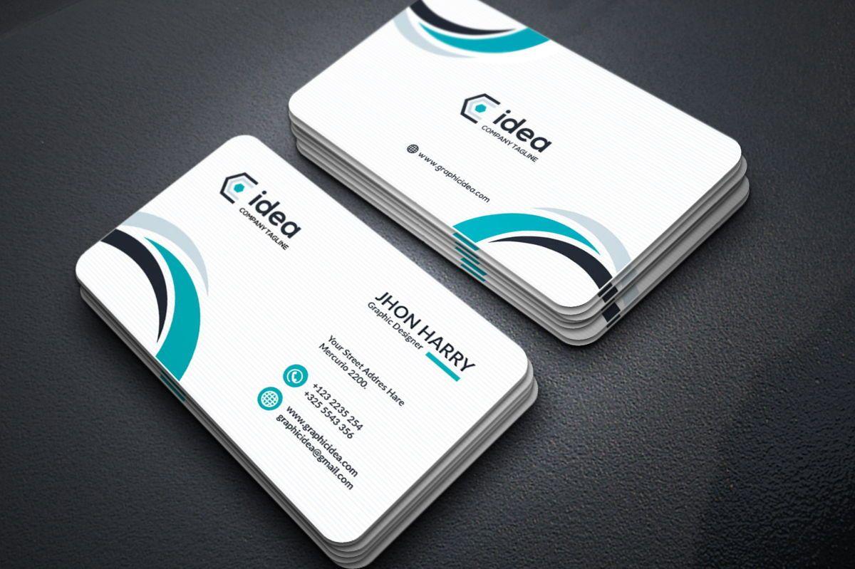 Idea - Multipurpose Business Card Template, スライド 4, 09033, ビジネス — PoweredTemplate.com