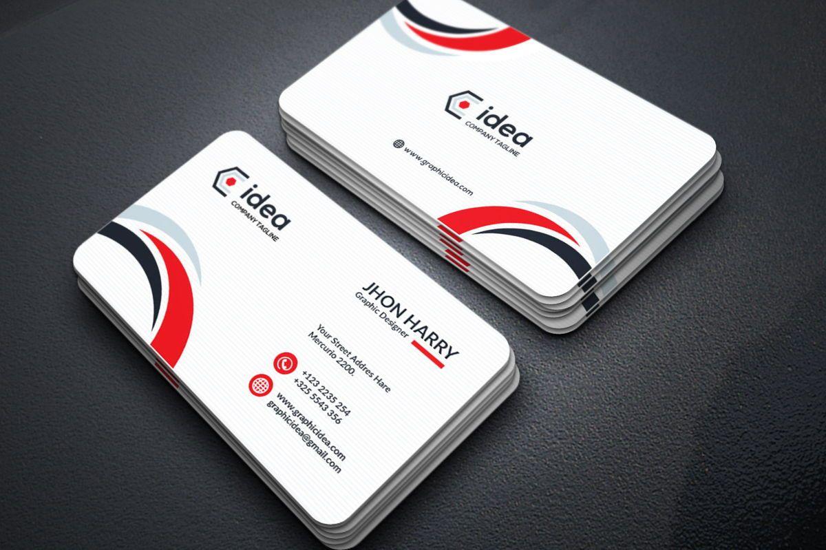 Idea - Multipurpose Business Card Template, スライド 5, 09033, ビジネス — PoweredTemplate.com