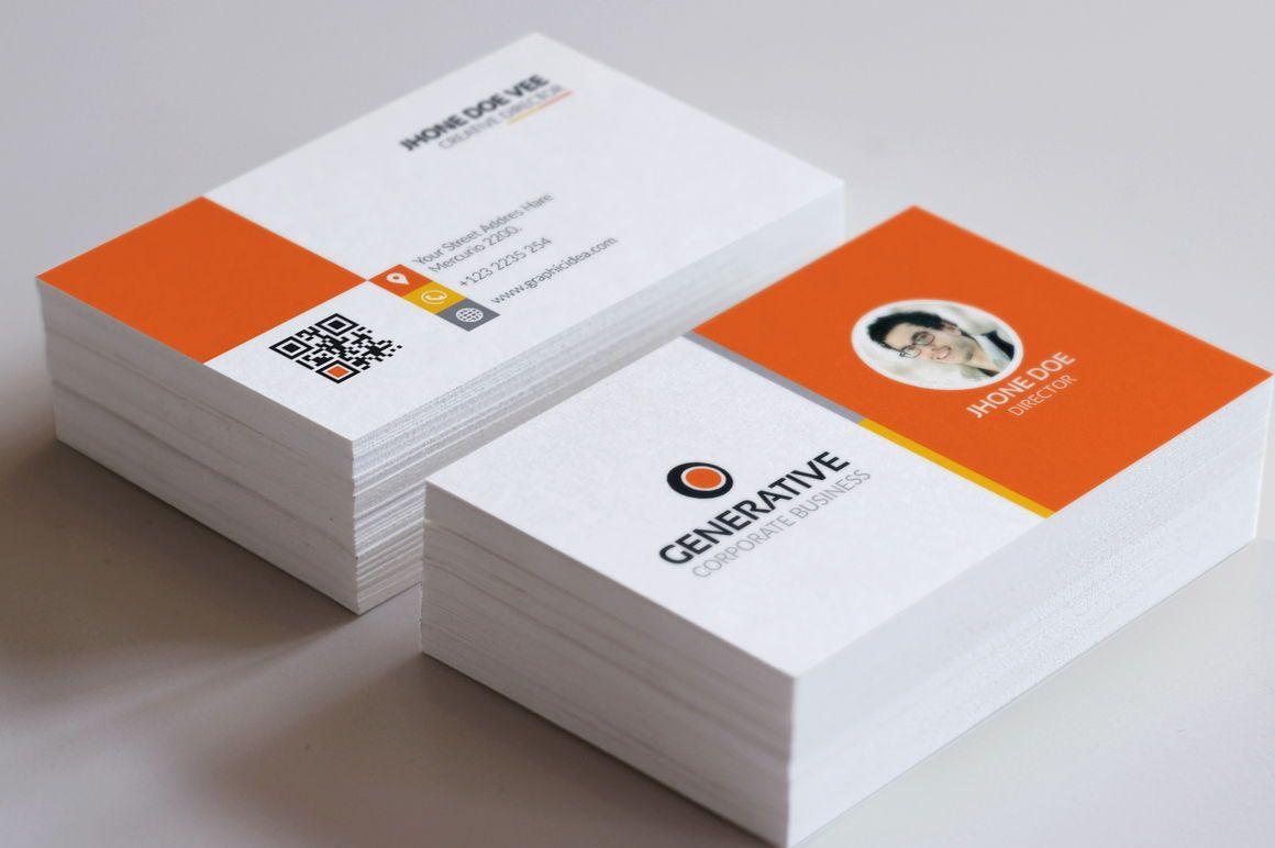 Generative - Multipurpose Business Card Template, Slide 2, 09034, Business — PoweredTemplate.com