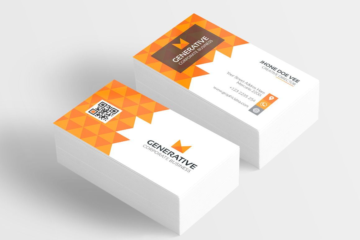 Generative - Corporate Identity Template, 09035, 抽象/テクスチャ — PoweredTemplate.com
