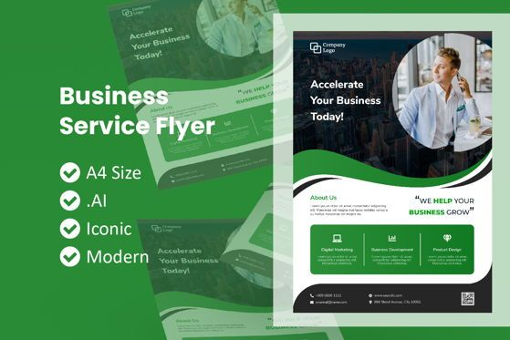Business: Business Nature Brochure Template #09038