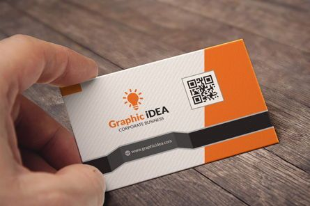 Business: GraphicIdea Business Card Template #09045