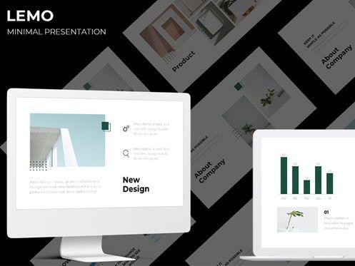 Business: LEMO Minimal Googles slide Template #08780