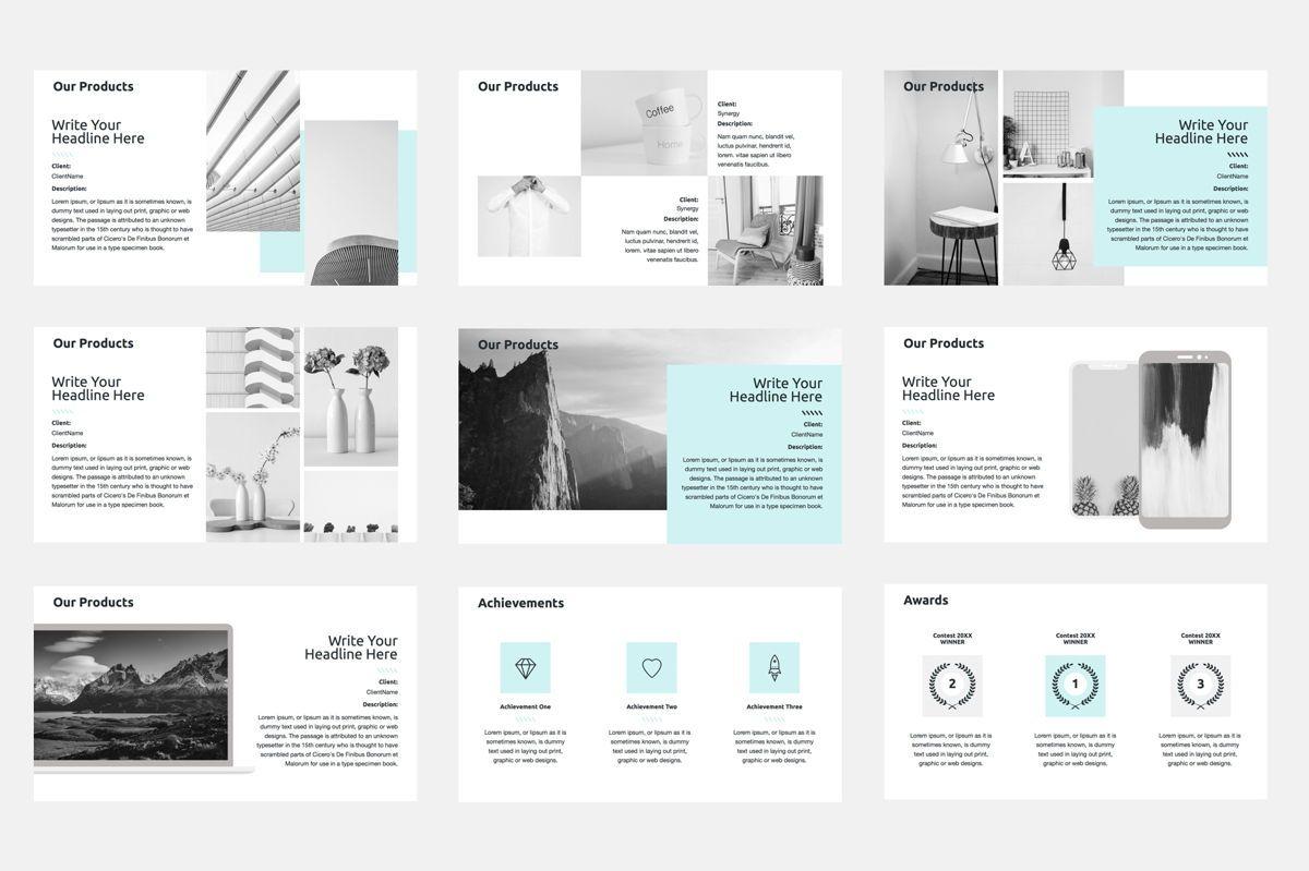 2020 Year Report Google Slides Presentation Template, Slide 6, 08781, Business — PoweredTemplate.com