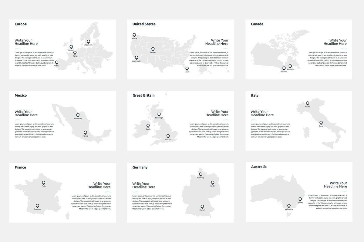 2020 Year Report Google Slides Presentation Template, Slide 8, 08781, Business — PoweredTemplate.com