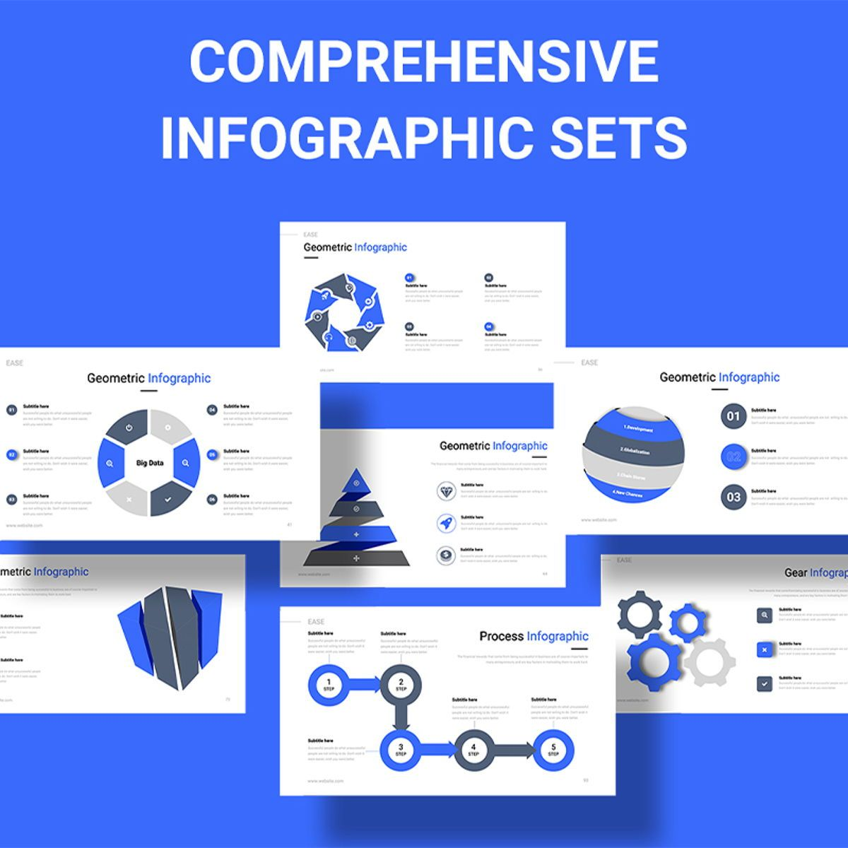 EASE Animated Multipurpose Keynote Presentation Template Blue Version, Slide 2, 08782, Business — PoweredTemplate.com