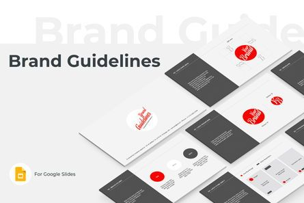 Business: Brand Guidelines Google Slides Presentation Template #08783
