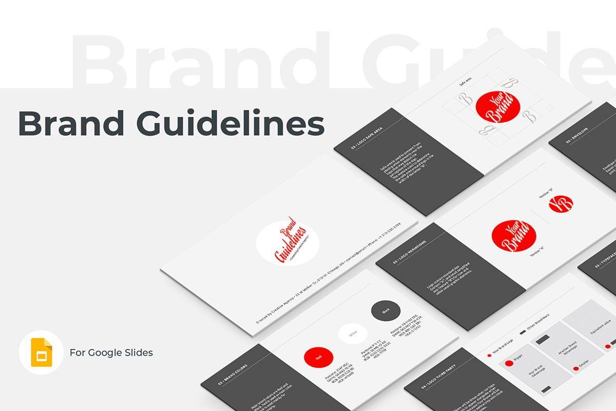 Brand Guidelines Google Slides Presentation Template, 08783, Business — PoweredTemplate.com