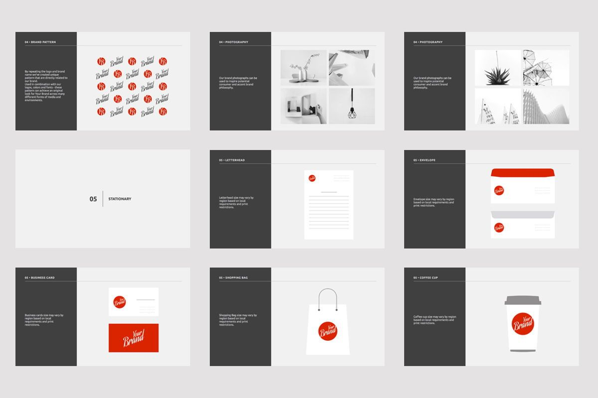 Brand Guidelines Google Slides Presentation Template, Slide 4, 08783, Business — PoweredTemplate.com
