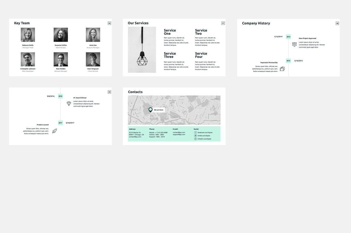 Business Plan Google Slides Presentation Template, Slide 7, 08784, Business — PoweredTemplate.com