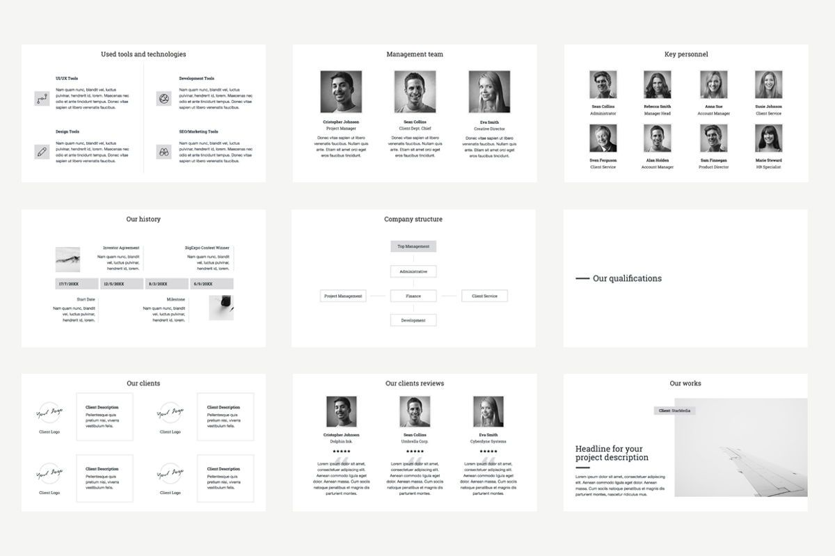 Business Proposal Google Slides Presentation Template, Slide 5, 08787, Business — PoweredTemplate.com